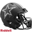 Troy Aikman - Autographed Dallas Cowboys Riddell Eclipse Speed Full Size Deluxe Football Helmet