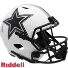 Troy Aikman - Autographed Dallas Cowboys Riddell Lunar Eclipse Speed Full Size Deluxe Football Helmet