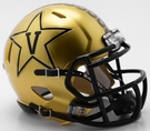 Vanderbilt Commodores Speed Riddell Mini Football Helmet