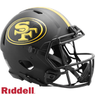 San Francisco 49ers - Eclipse Alternate Speed Riddell Full Size Authentic Proline Football Helmet