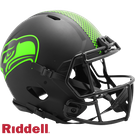 Seattle Seahawks - Eclipse Alternate Speed Riddell Full Size Authentic Proline Football Helmet
