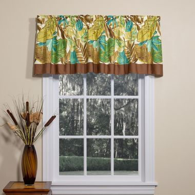 Tailored Valance with Band - Brunswick by Thomasville