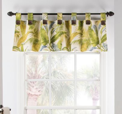 Tab Top Valance - Cayman by Thomasville