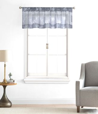 Claire Embroidered Sheer Valance