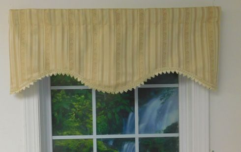 T-Dashing Cornice Valance