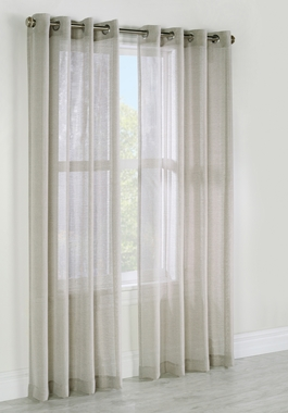 Alize Faux Linen Grommet Panel - Habitat - Sold Out