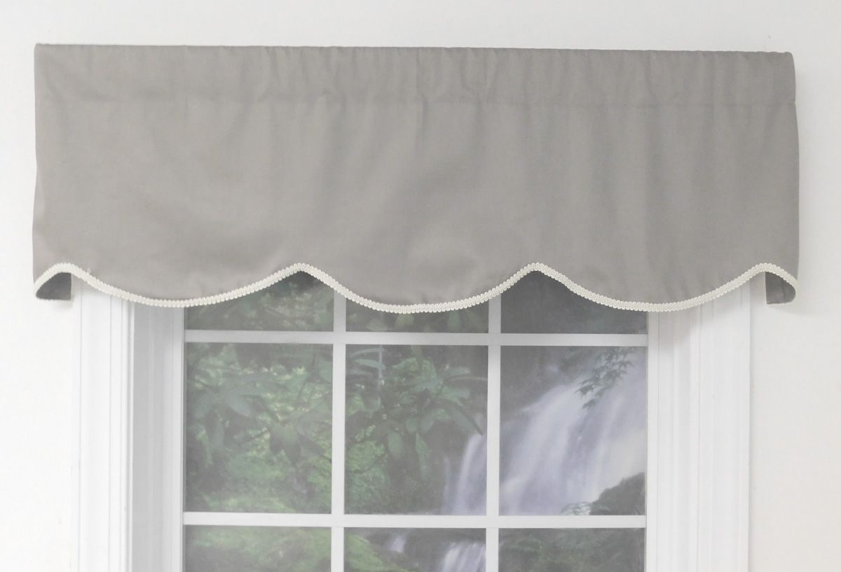 Imperial Unlined Cornice Valance Thecurtainshop Com