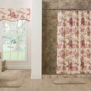 Shower Curtain - Bouvier Red by Thomasville