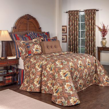 Bedspread - Wilderness Royal by Thomasville