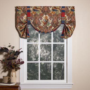 Tie Up Valance -  Wilderness Royal by Thomasville