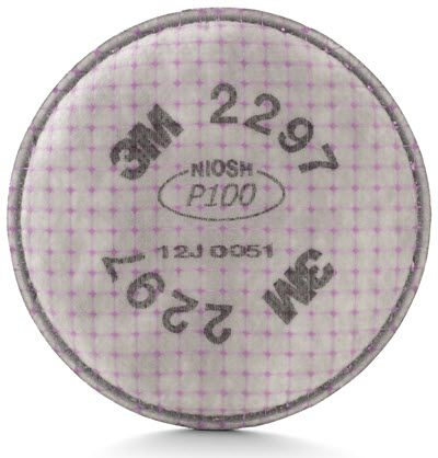 3M Advanced Particulate P-100 Replacement Filter w/ Odor Relief 2297