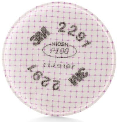 3M Advanced Particulate P100 Replacement Filter 2291