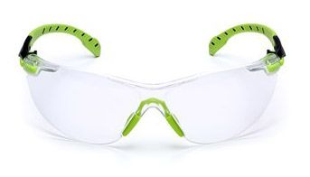 3M Solus 1000 Clear Anti-Fog Safety Glasses S1201SGAF