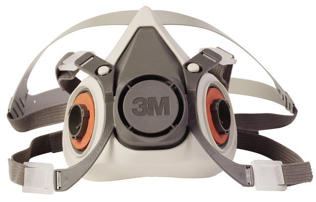 3M Half Facepiece Reusable Respirator 6100 (Small)