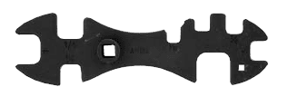 Atlas Cylinder Wrench - 10 Way W1013