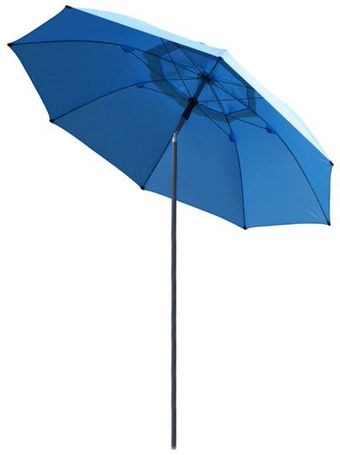 Black Stallion Core Flame-Resistant Industrial Umbrella UB200-BLU