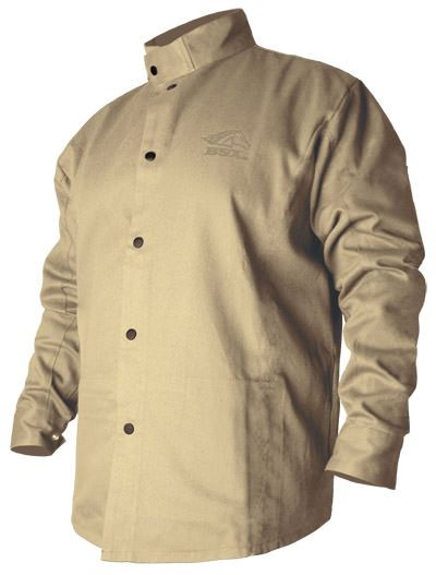 BSX FR Cotton Welding Jacket - Khaki BXTN9C