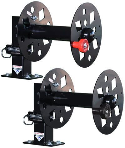Diamond Welding Lead Reel - 12 Inch Fixed Base Set FBS-SET12BLK