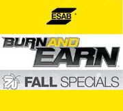 ESAB Burn And Earn Rewards Program