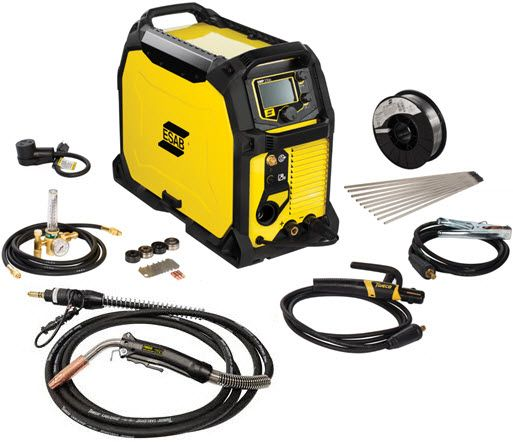 ESAB Rebel EMP 235ic MIG/TIG/Stick Welder 0558012702