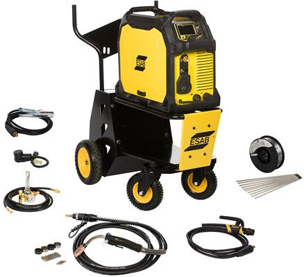 ESAB Rebel EMP 285ic MIG/TIG/Stick Welder with Cart 0558102555