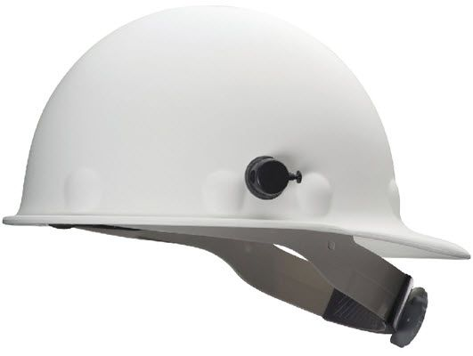 Fibre-Metal Roughneck White Hard Hat P2AQRW01A