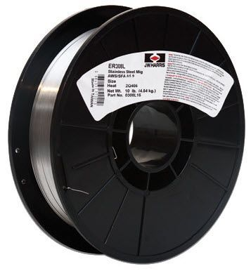 Harris 308LSi .025 Stainless Steel MIG Welding Wire-10# Spool 308LS15