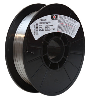 "Stainless Steel Mig ER316L Mig Welding Wire .045/"" 28lb Spool"
