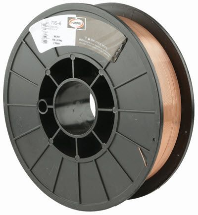 Harris ER70S-6 .023 MIG Welding Wire - 11# Spool E70S615
