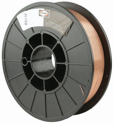 Harris .030 Silicon Bronze MIG Welding Wire - 10# Spool 00SIBE5
