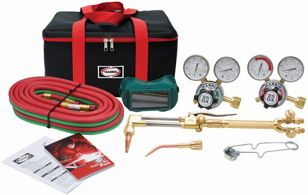 Harris VHD Ironworker Deluxe Welding & Cutting Outfit 4400376