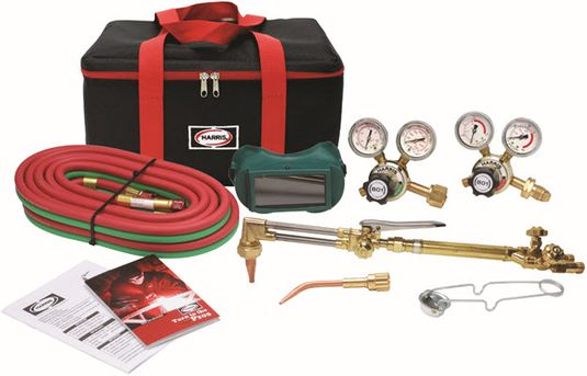 Harris VMD Ironworker Deluxe Welding & Cutting Outfit 4400372