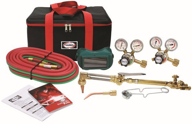 Harris VMD Ironworker Deluxe Welding & Cutting Outfit 4400375