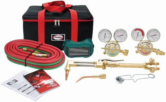 Harris VXT Ironworker Deluxe Welding & Cutting Outfit 4400374