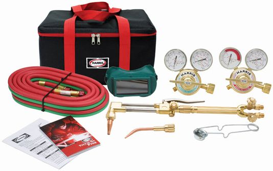 Harris VXT Ironworker Deluxe Welding & Cutting Outfit 4400377
