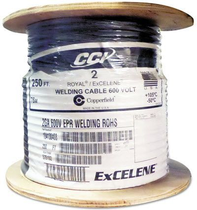 Southwire Royal Excelene #2 Welding Cable - 250 ft. Reel