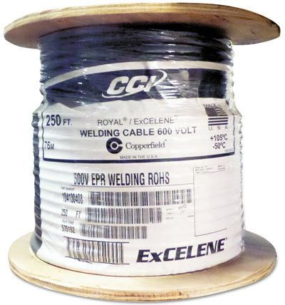 Southwire Royal Excelene #4 Welding Cable - 250 ft. Reel