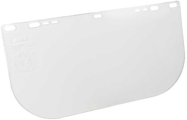 Jackson 34-60 Clear Polycarbonate Face Shield 29109