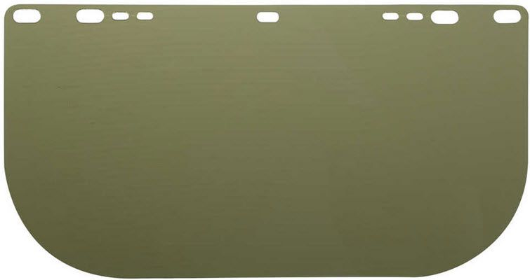 Jackson 8154 Medium Green Polycarbonate Face Shield 29097