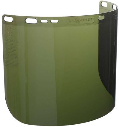 Jackson 34-63 IRUV Shade 3 Polycarbonate Face Shield 26262