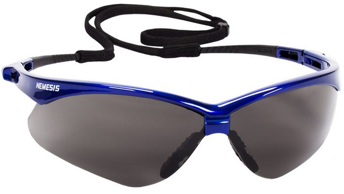 Jackson Nemesis Anti-Fog Safety Glasses - Smoke 47387