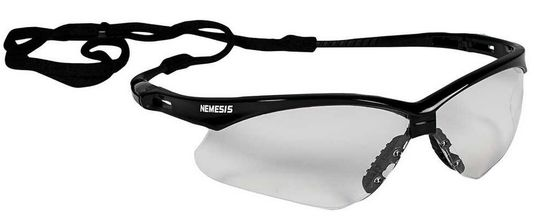 KleenGuard Nemesis Clear Safety Glasses - Anti-Fog 25679