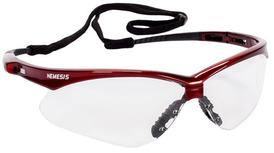 KleenGuard Nemesis Clear Safety Glasses - Anti-Fog 47378
