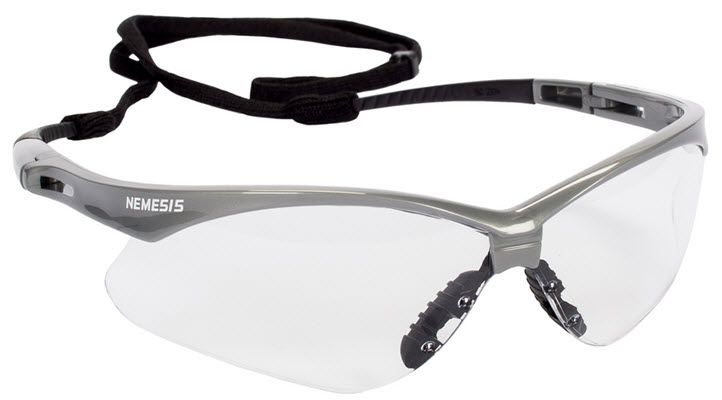 KleenGuard Nemesis Clear Safety Glasses - Anti-Fog 47388