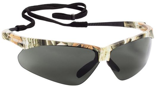 KleenGuard Nemesis Polarized Safety Glasses- Smoke Lens 47417