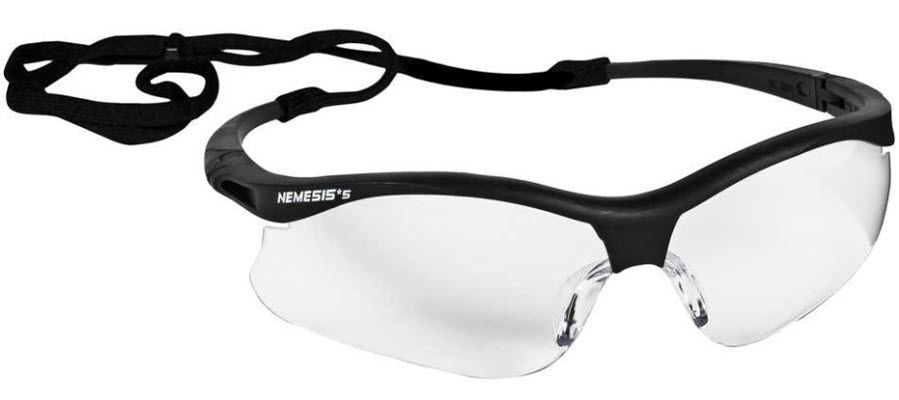 "Jackson Nemesis ""S"" Safety Spectacle - Clear Lens 38474"