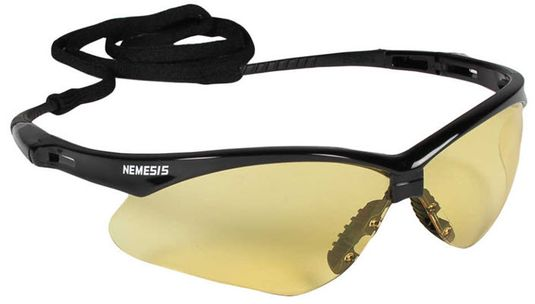Jackson Nemesis Safety Spectacle - Amber Lens 25659