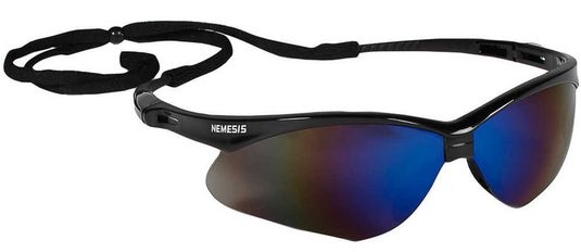 KleenGuard Nemesis Safety Spectacle - Blue Mirror Lens 14481