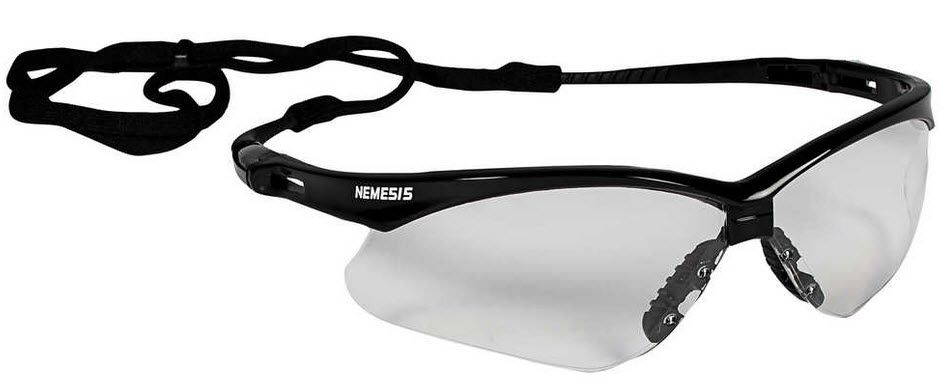 Jackson Nemesis Clear Safety Glasses 25676