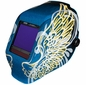 Jackson Welding Helmet - Gold Wings TrueSight II Lens 46111